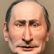Caricature Poutine, guignols Egypte