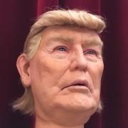 Caricature Trump pour les Guignols du Liban