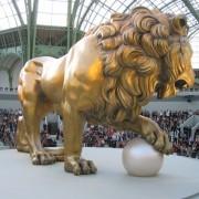 Lion 20 M, atelier François Devineautravail collectif, défilé Chanel au grand Palais