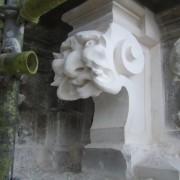 Mascaron, tour abbatiale.2009