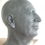 Portrait Yves Duteil  sans pilosité Grévin.2017