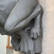 Gargouille pour le Puy du Fou, détail