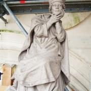 Matrice Saint Denis pour tour abbatiale, monuments historiques.2009.