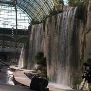 Pans rocheux, 100×15 m, défilé Chanel, responsable sculpture atelier Devineau